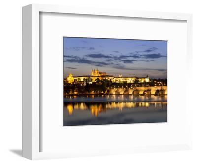 St Vitus Cathedral, Charles Bridge, UNESCO World Heritage Site, Prague, Czech Republic