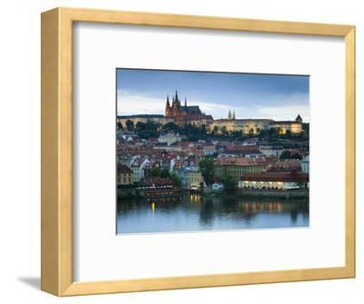 St Vitus Cathedral, River Vltava, UNESCO World Heritage Site, Prague, Czech Republic