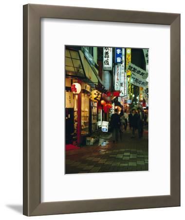 Street Scene at Night, Shinjuku, Tokyo, Japan, Asia