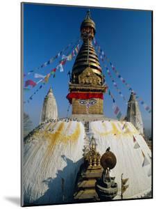 Swayambhunath Stupa (Monkey Temple), Kathmandu, Nepal, Asia by Gavin Hellier