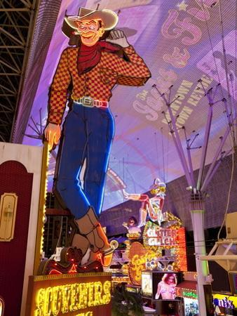 The Freemont Street Experience in Downtown Las Vegas, Las Vegas, Nevada, USA, North America
