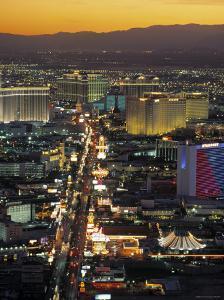 The Strip, Las Vegas, Nevada, USA by Gavin Hellier