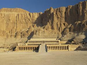 The Temple of Hatsepsut, Valley of the Queens, Thebes, Egypt, Africa by Gavin Hellier