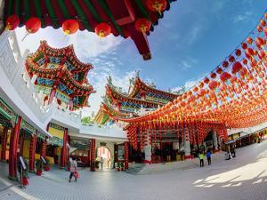 Thean Hou Chinese Temple, Kuala Lumpur, Malaysia by Gavin Hellier