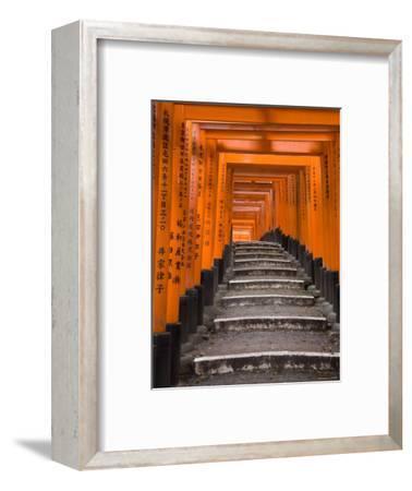Torii Gates, Fushimi Inari Taisha Shrine, Kyoto, Honshu, Japan