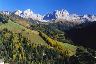 Trentino-Alto Adige and the Dolomite Mountains, Italy