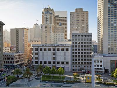 Union Square, Downtown, San Francisco, California, United States of America, North America by Gavin Hellier