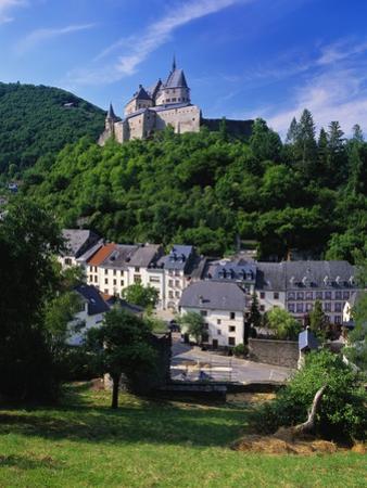 Vianden Castle, Vianden Town, Luxembourg