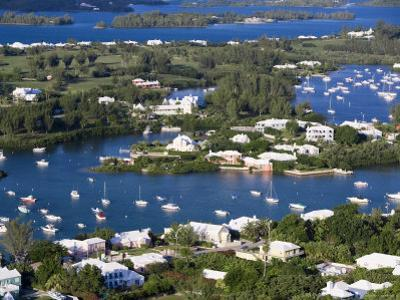 View from Gibbs Hill Overlooking Southampton Parish, Bermuda by Gavin Hellier
