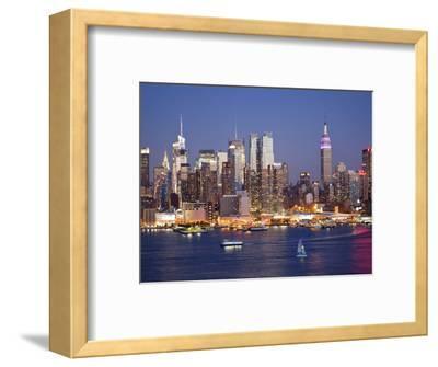 View of Midtown Manhattan across the Hudson River, Manhattan, New York City, New York, United State