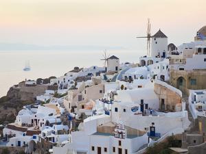 Village of Oia, Santorini (Thira), Cyclades Islands, Aegean Sea, Greek Islands, Greece, Europe by Gavin Hellier