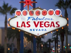 Welcome to Las Vegas Sign, Las Vegas, Nevada, United States of America, North America by Gavin Hellier