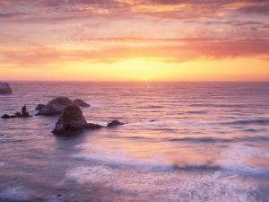 Big Sur at Sunset, California, USA by Gavriel Jecan
