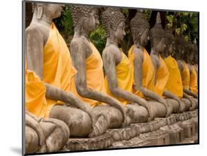 Buddha at Ayuthaya, Siam, Thailand by Gavriel Jecan