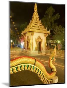 Buddhist Celebrating Buddha's Day, Visakha Bucha, Khon Kaen, Thailand by Gavriel Jecan