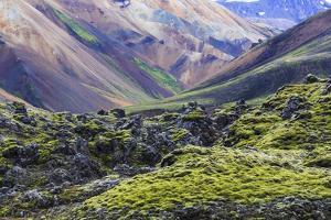 Landmannalaugar Voulcano Landscape , Iceland by Gavriel Jecan