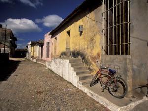 Old Street Scene, Trinidad, Cuba by Gavriel Jecan