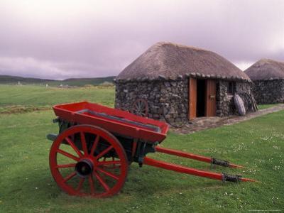Rural Landscape and Wheelbarrow, Kilmuir, Isle of Skye, Scotland by Gavriel Jecan