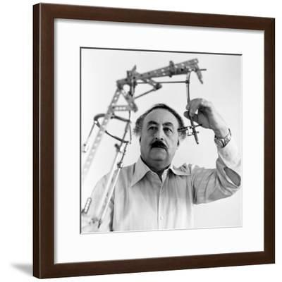 Gavriil Ilizarov, Soviet Surgeon-Ria Novosti-Framed Giclee Print