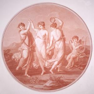 The Three Graces and Cupid, C1775-C1792 by Gavrila Ivanovitch Scorodomoff