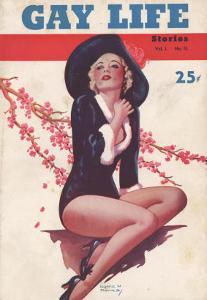 Gay Life, Glamour Pin-Ups Magazine, USA, 1930