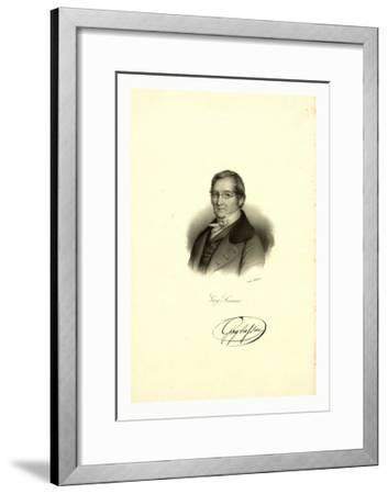 Gay-Lussac--Framed Giclee Print