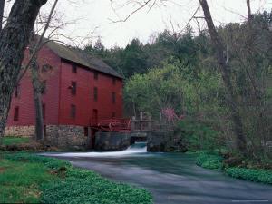 Alley Spring Mill near Eminence, Missouri, USA by Gayle Harper