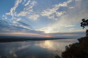 Sunrise, Trail of Tears State Park, Cape Girardeau, Missouri by Gayle Harper