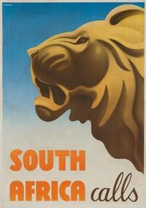 South Africa Calls Poster by Gayle Ullman