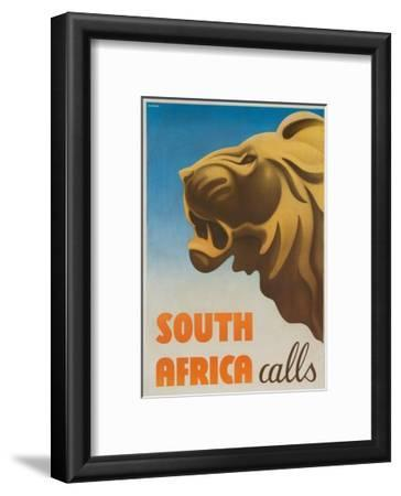 South Africa Calls Poster