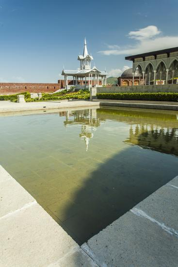 Gazebo with a Fountain in the Rabat Fortress-Richard Nowitz-Photographic Print