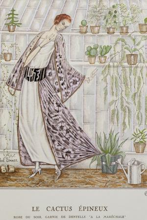 Gazette Du Bon Ton; Le Cactus Epineux--Giclee Print