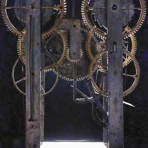 Gears of Antique Clock