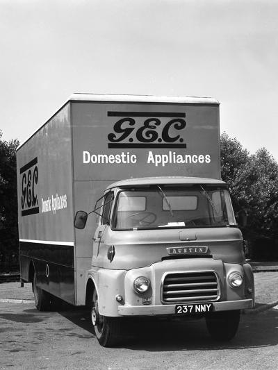 Gec Austin Delivery Lorry, Swinton South Yorkshire, 1963-Michael Walters-Photographic Print