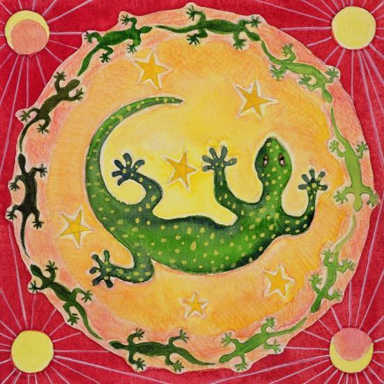 Gecko, 1998-Vivika Alexander-Giclee Print