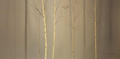 Winterly Wood by Ged Mitchell