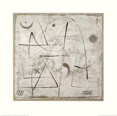 Gedanken bei Schnee, c.1933-Paul Klee-Art Print