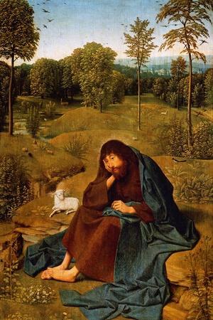 John Baptist in Wilderness