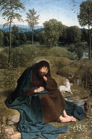John the Baptist in the Wilderness, 1490-1495