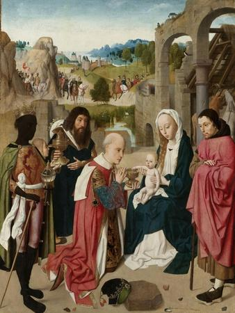 The Adoration of the Magi, c.1480-85
