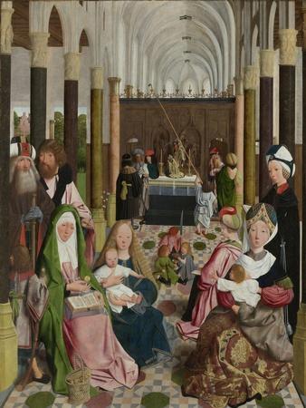 The Holy Kinship, C.1495