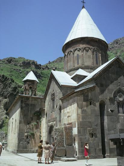 Geghard Monastery, Unesco World Heritage Site, Armenia, Central Asia-Sybil Sassoon-Photographic Print