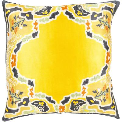 Geisha Down Fill Pillow - Gold--Home Accessories
