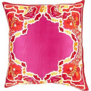 Geisha Down Fill Pillow - Magenta