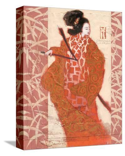 Geisha in Arms-Joadoor-Stretched Canvas Print