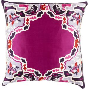 Geisha Poly Fill Pillow - Cherry