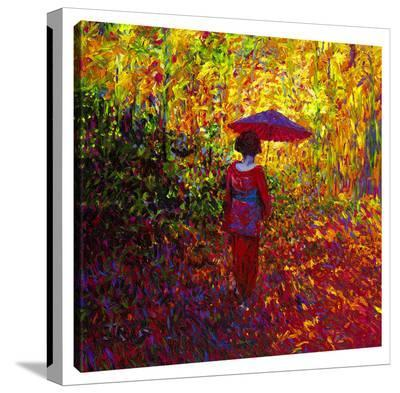 Geisha-Iris Scott-Gallery Wrapped Canvas