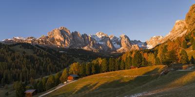 Geisler Mountain Range, Odle in the Dolomites, Groeden Valley, Val Gardena, South Tyrol, Alto Adige-Martin Zwick-Photographic Print