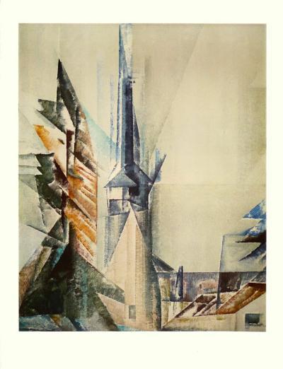 Gelmeroda-Lyonel Feininger-Collectable Print