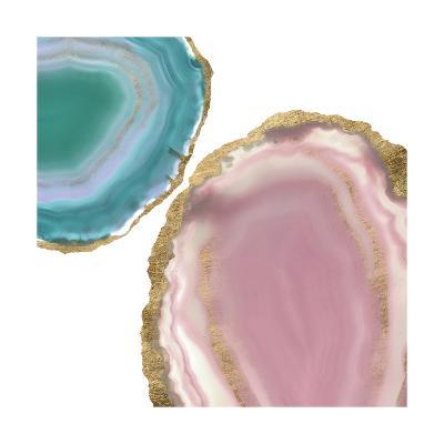 Gem Stones I-Jennifer Goldberger-Art Print